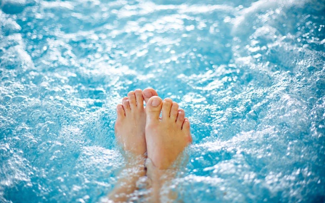 Feet in Spa